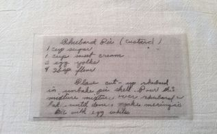 heirloom recipe dish towel