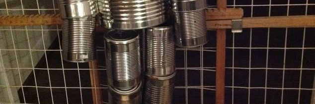 q what can i use besides nuts and bolts to make this tin man