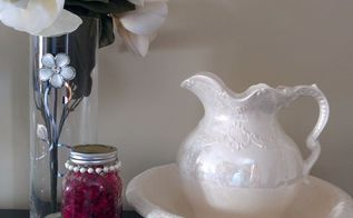 diy rose petal air freshener in a mason jar