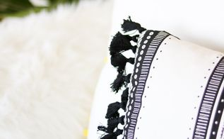 tassels throw pillow in 20 minutes