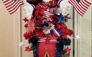 American Flag Toothpick Wreath Hometalk