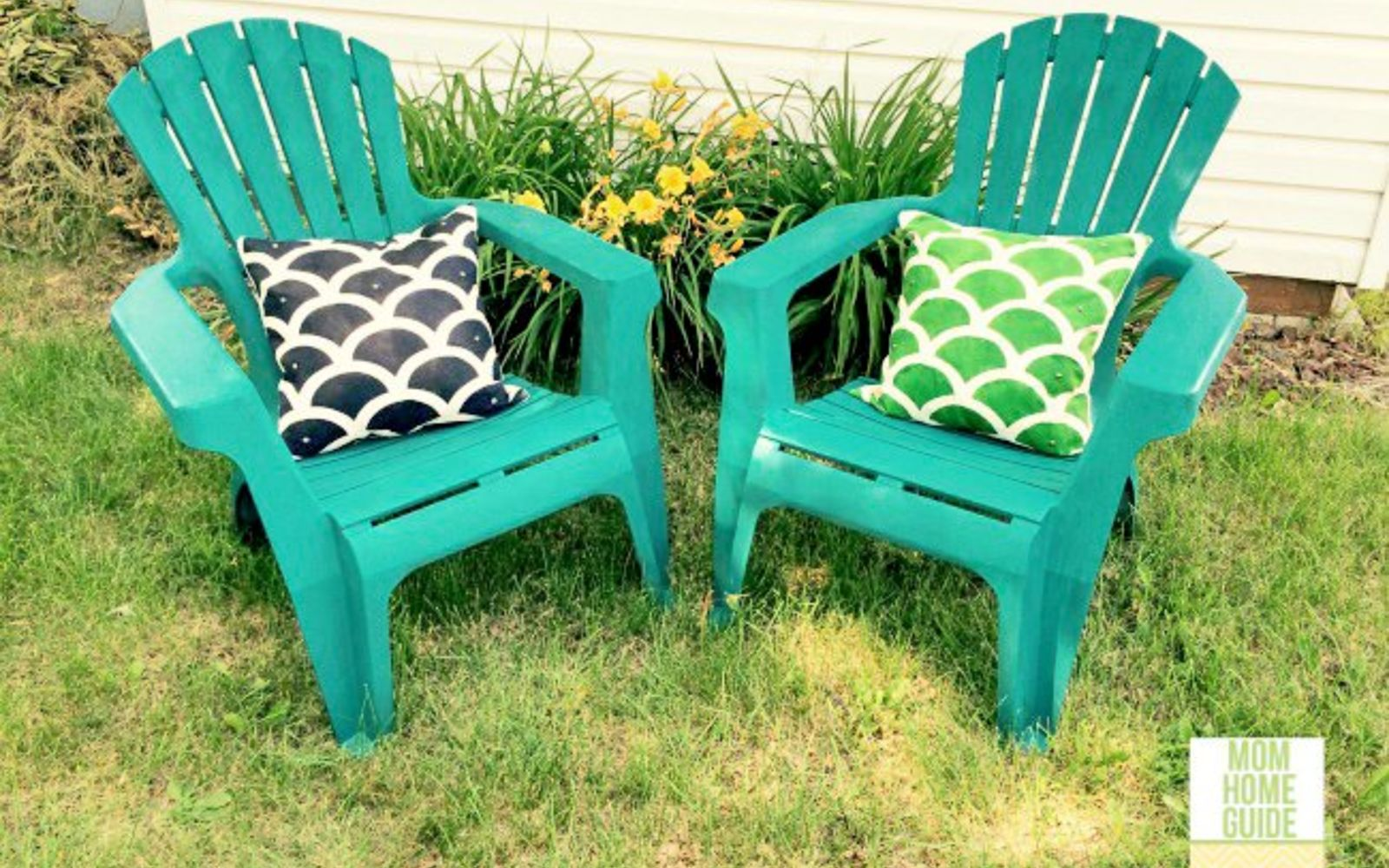 s 12 pool chair ideas we never would have thought of, Create Accent Pillows For Your Chairs