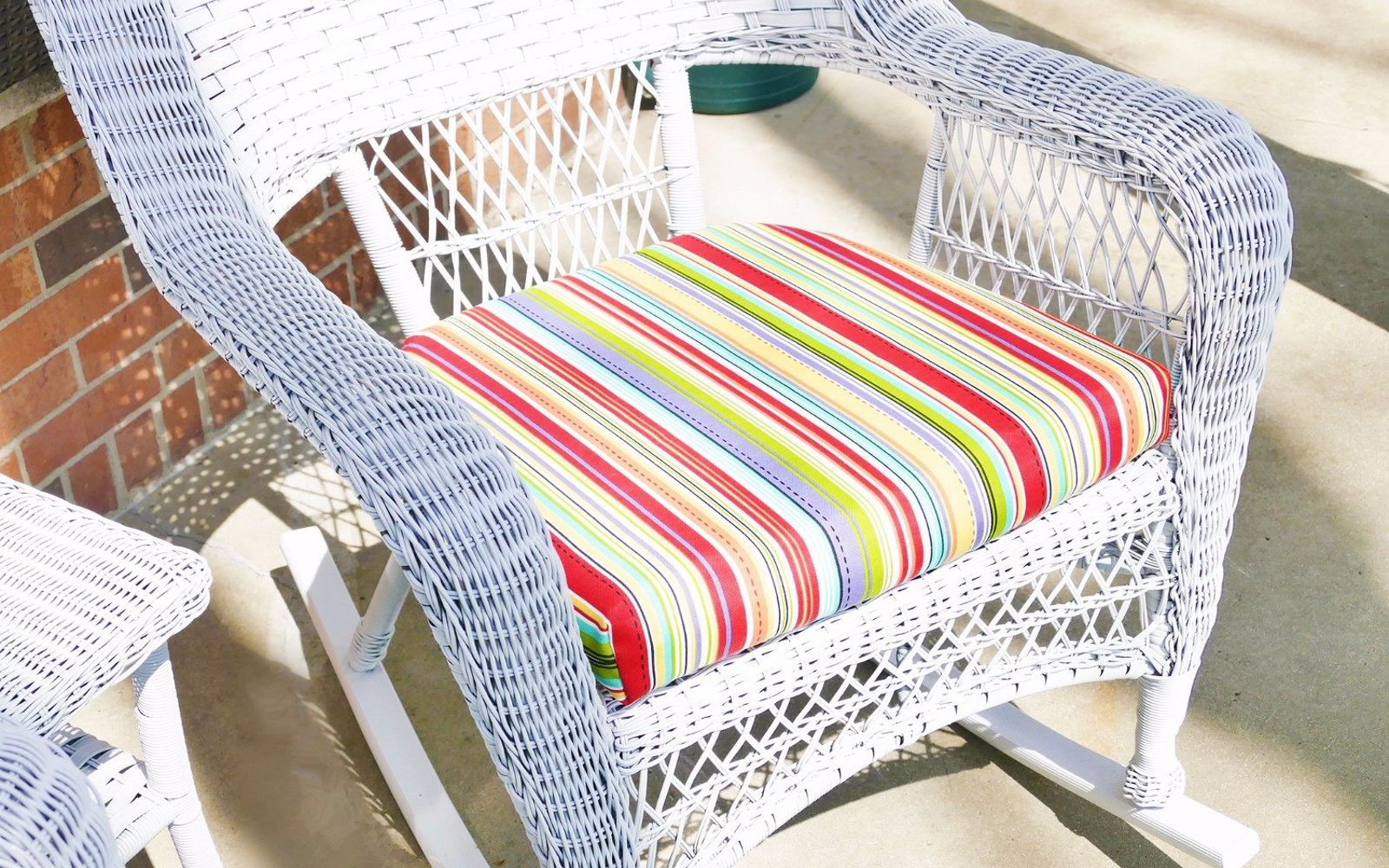 s 12 pool chair ideas we never would have thought of, Make A Change To Your Chair Cushions