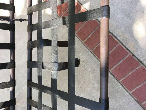 Replacing Outdoor Swing Webbing Under Cushions Hometalk
