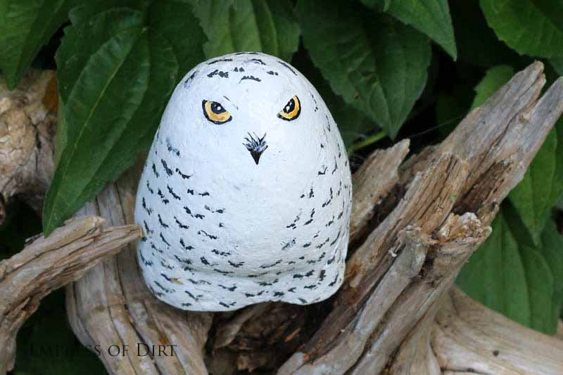 30 garden art ideas to fall in love with hometalk - Painting rocks for garden what kind of paint ...