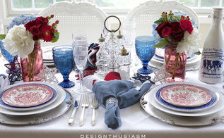 4th of july champagne brunch tablescape