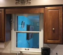 q what to do for a kitchen window area replacement