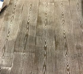 turning concrete floors into faux wood with paint faux wood floor