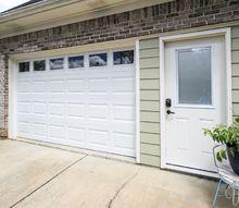 garage door replacement from janky to swanky