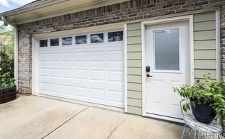 garage door replacement from janky to swanky