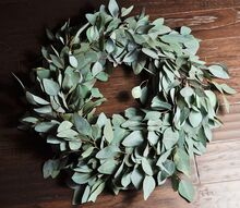 diy fresh eucalyptus wreath