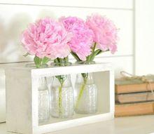 dollar tree craft diy farmhouse style vase holder