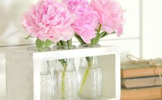 dollar tree craft diy farmhouse style vase holder
