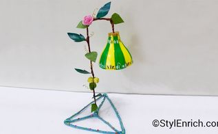 how to make a beautiful plastic bottle lampshade