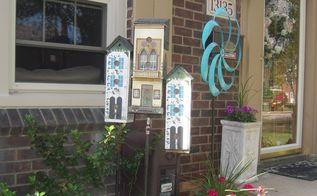 townhouse birdhouses