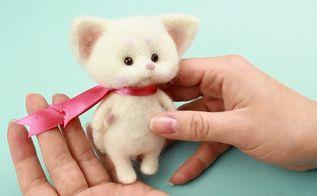 diy baby shower decor idea fluffy kitten
