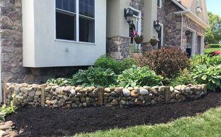 stone garden wall