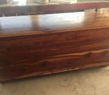 q i need to bring this cedar chest back to life please help