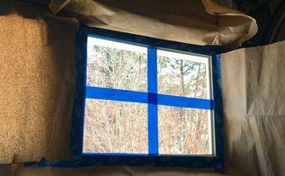 faux windows in garage door