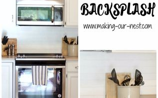diy sharpie backsplash