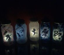 mythical creature solar lanterns