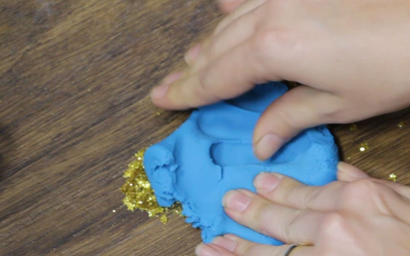 s 30 essential hacks for cleaning around your home, Get Rid Of Glitter With Play Doh