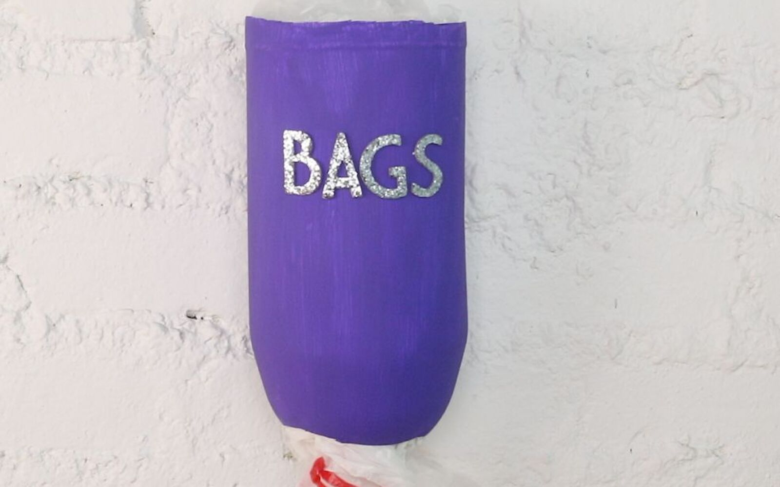 s 30 fun ways to keep your home organized, Get Your Plastic Bags In Order With A Bottle