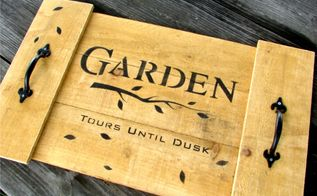 make your own garden planting tray