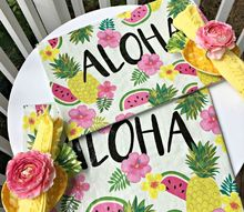 diy placemats from shopping bags