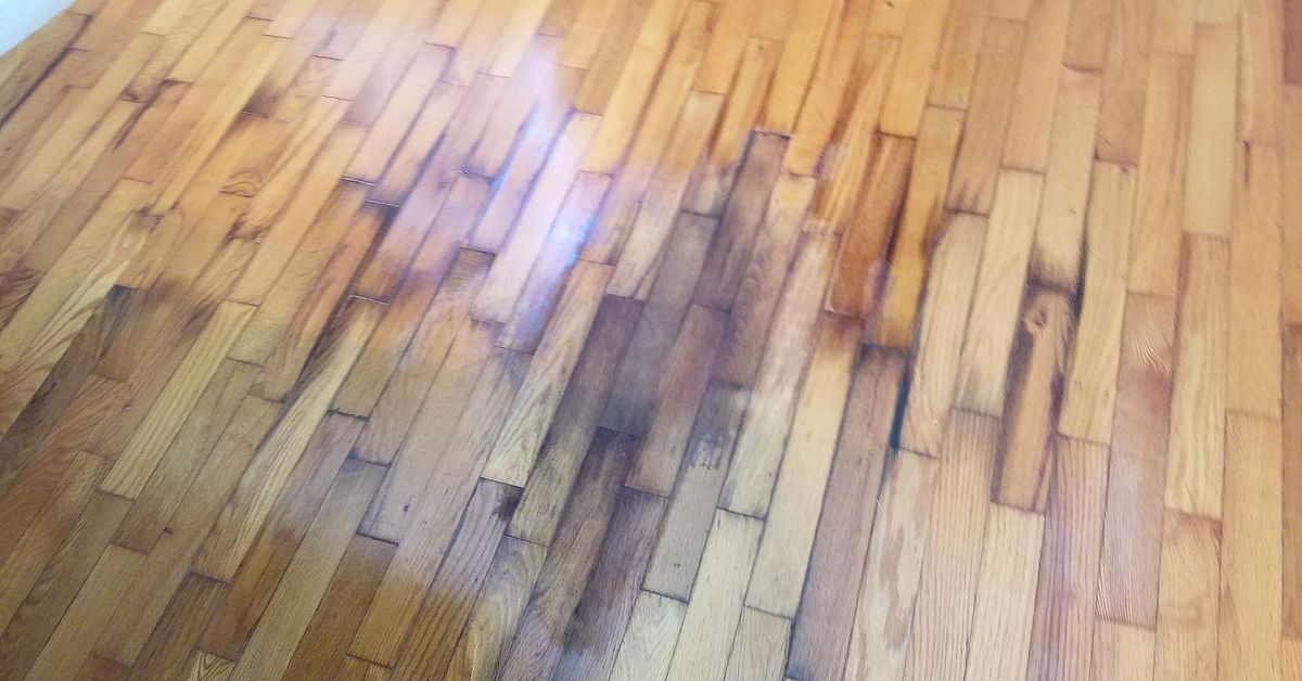 - How Do I Fix This Wood Floor? Dog Pee Darkened The Wood. Hometalk