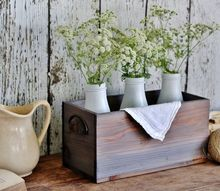 how to make brand new wood look weathered in minutes