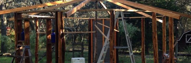 q what type of roof will best suit the 12 sided house we are building