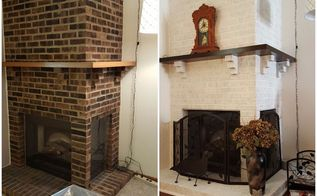 fireplace brighten and refresh