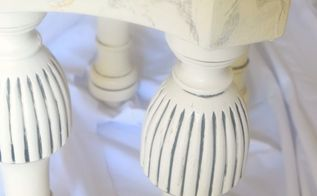 faux marble stool a thrift store upcycle