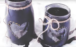 spice up your room with these mason jars