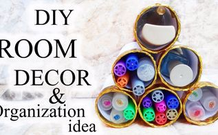 diy room decor organization idea step by step