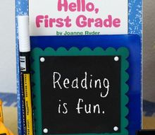 for the love of reading bookstand with mini chalkboard for nick