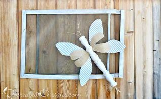 make a whimsical bug for summer from salvaged items