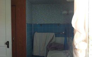 q how to repair fake plastic tile in bathroom