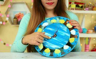 diy nautical wall clock