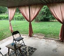 quick patio makeover