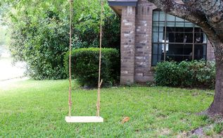 diy wooden tree swing