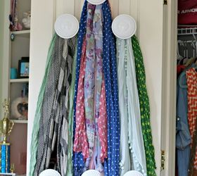 Use Your Closet Door For Those Last Items