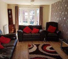 q hi i want to put oak furniture in my living room any idea for arrangem