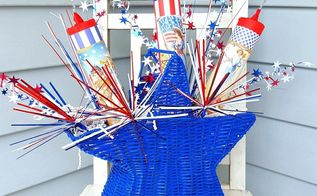 diy vintage firecracker july 4th decor