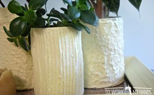 how to make inexpensive planters from recycled tin cans
