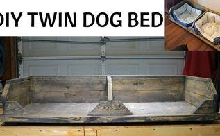 twin diy rustic dog bed