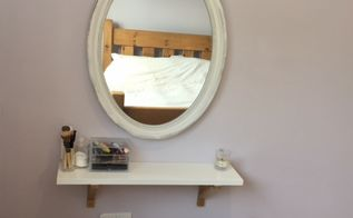diy ikea hacks vanity unit on a budgt for small bedrooms