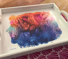 imagination serving tray gets a spitacular makeover and then some
