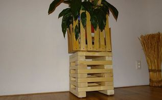 refurbished jenga wooden stool diy